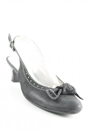 Geox Slingback-Pumps schwarz Casual-Look