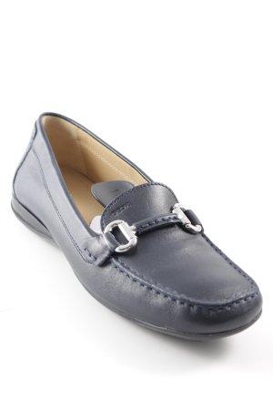 Geox Slipper dunkelblau klassischer Stil