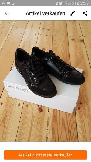 geox sneaker black