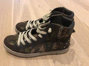 Geox,Sneaker,Gr.37,Leder,Canvas,Np109