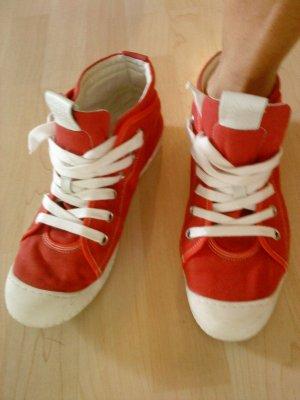 GEOX Sneaker rot weiß in Größe 41