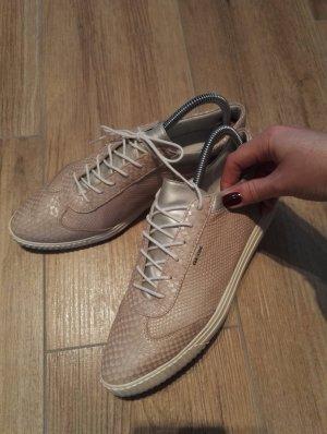 GEOX Sneaker / spitzig / rose perlmut / Größe 39-40 / Leder
