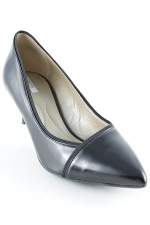 Geox Spitz-Pumps schwarz Business-Look