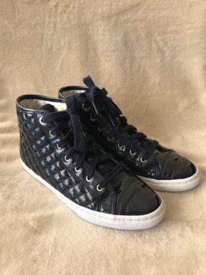 GEOX *** Sportlich, eleganter Sneaker in Dunkelblau