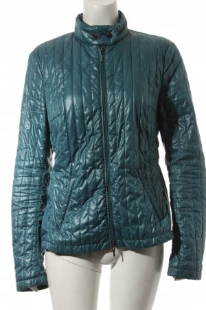 Geox Steppjacke petrol Steppmuster Casual-Look