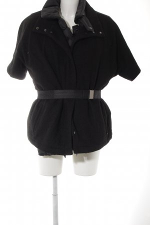 Geox Quilted Coat black casual look