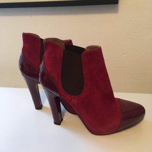 Geox Booties dark red