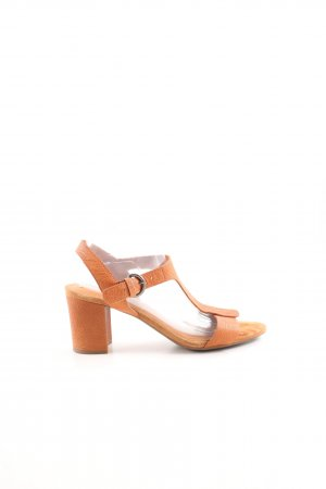 Geox T-Strap Sandals light orange business style