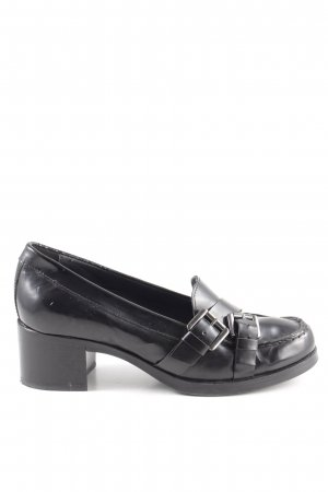 Geox Loafers zwart zakelijke stijl