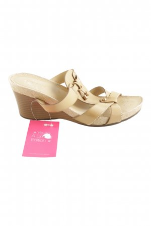 Geox Wedges Sandaletten creme Casual-Look