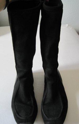 Geox Wildleder Stiefel schwarz
