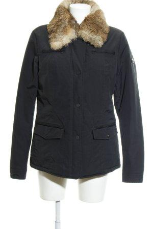 Geox Winterjacke schwarz klassischer Stil