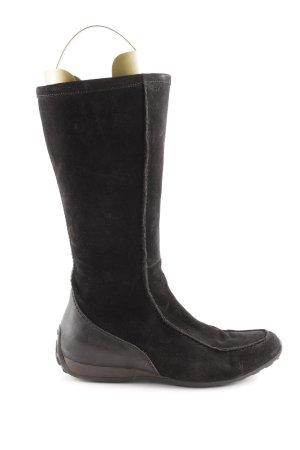 Geox Winterstiefel schwarz schlichter Stil
