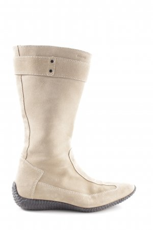 Geox Winter Boots cream casual look