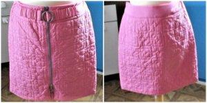 Laurèl Miniskirt pink-pink mixture fibre