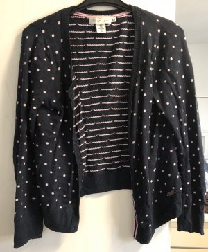 H&M Giacca di lana rosa chiaro-blu scuro