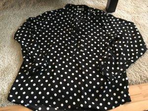 Gepunktete Bluse Größe 40