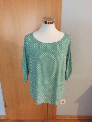 gepunktete Bluse/Shirt, Größe M