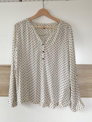 Gepunktete Bluse von H&M