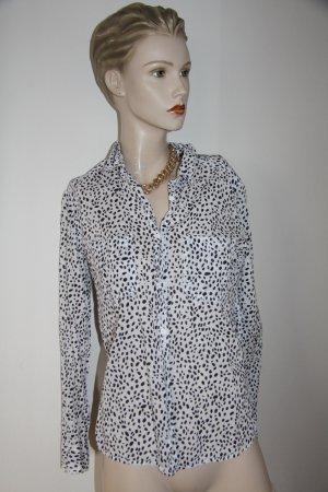 Gepunktete Bluse von H&M Größe 36