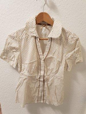 Next Blusa blanco-marrón