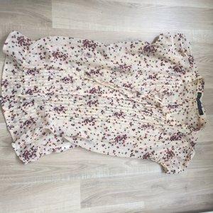 Gepunktete Bluse von Zara