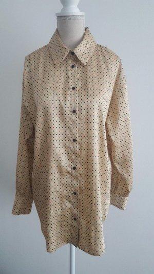 Gepunktete Bluse von Zara Gr.S