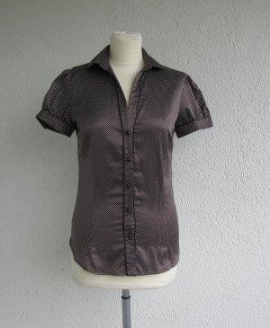 gepunktete Bluse von Zara in Gr. S - 36