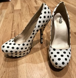 Charlotte Russe High Heels white-black