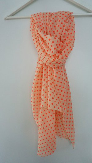Gepunkteter leichter Schal