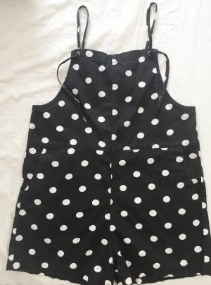 Gepunkteter Oversized Onesie / Jumpsuit / Einteiler NEU von Monki