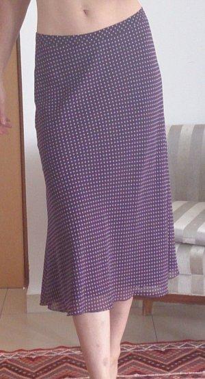Christian Berg Midi Skirt lilac polyester