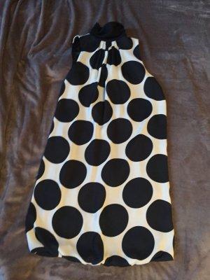 Zara Basic Ballonjurk zwart-wit