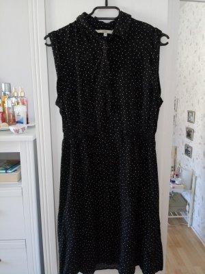 Clockhouse Vestido camisero blanco-negro