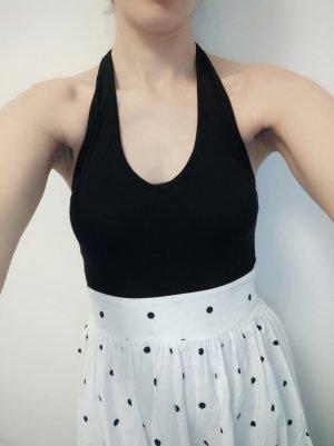 gepunktetes Kleid Neckholderkleid Esprit Größe 34 xs passgenau wie neu