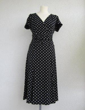 gepunktetes Kleid von Ashley Brooke in Gr. 42