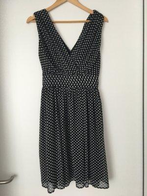 Gepunktetes More & More Kleid Gr. 36