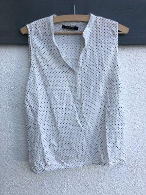 Reserved Blusa senza maniche nero-bianco Viscosa