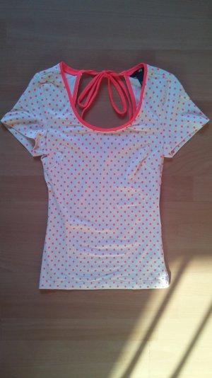 Gepunktetes T-Shirt von H&M, Größe XS