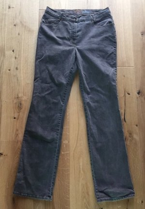 Gerade geschnittene graue Jeans von Gerry Weber Edition, Gr.40