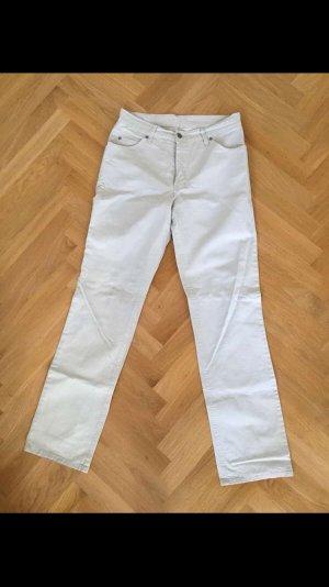 His Pantalone cinque tasche beige chiaro