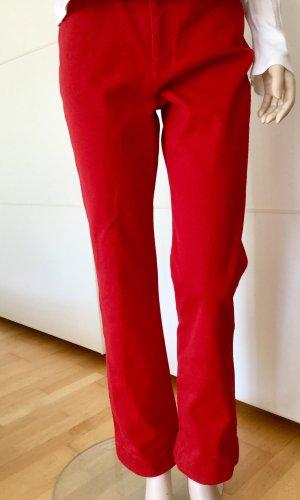 Escada Sport Hoge taille jeans baksteenrood-rood