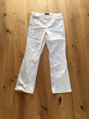 Gerade geschnittene weiße Jeans von Gerry Weber, Gr.42