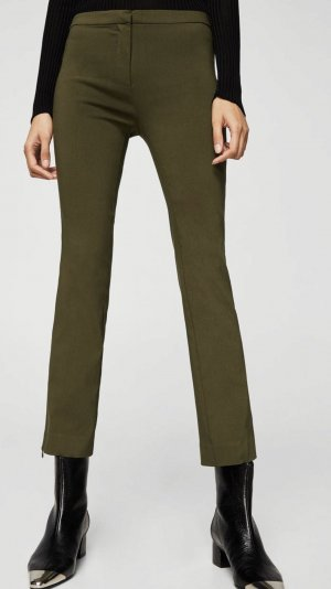 Mango High Waist Trousers multicolored