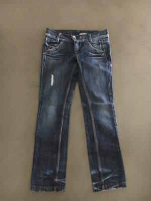 Geradegeschnittene Jeans
