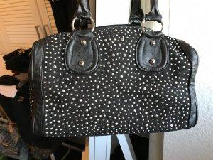 Bowling Bag black imitation leather