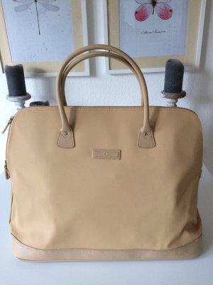 Geräumige Reisetasche/Handgepäck in beige