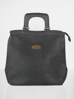 Carry Bag anthracite imitation leather