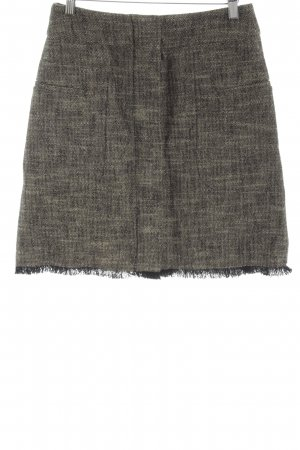 Gerard darel Fringed Skirt light grey-bronze-colored street-fashion look