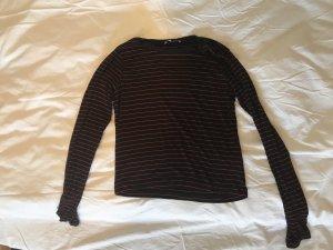 Zara Cropped shirt veelkleurig